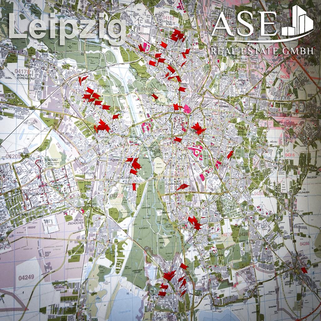 Stadtplan ASE Real Estate GmbH