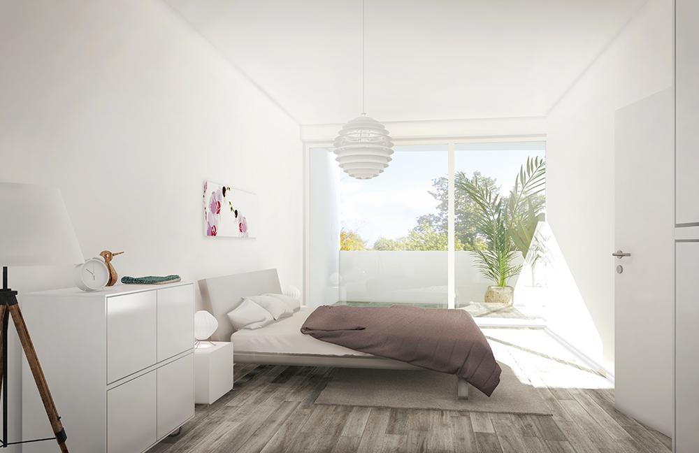 Visualisierung Paul-Flechsig-Strasse 11 Schlafen